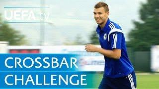 Edin Džeko: Crossbar Challenge