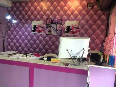 salon de beaut decoration institut de beaut youtube. Black Bedroom Furniture Sets. Home Design Ideas