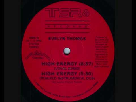 Evelyn Thomas - High Energy (Vocal Remix) 1984.wmv