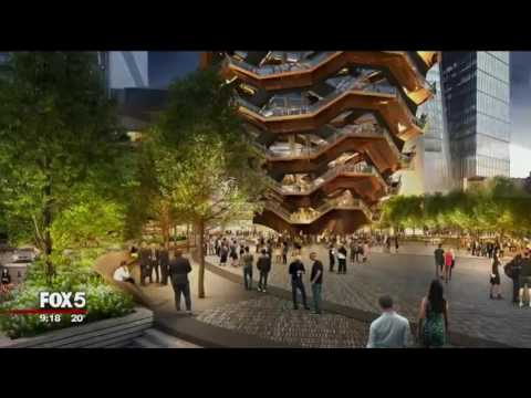 Fox 3-13-17 Stephen Ross and Rosanna Scotto at Hudson Yards