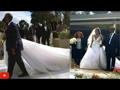 MINNIE DLAMINI'S WHITE WEDDING part 2 (#BECOMING MRS JONES)