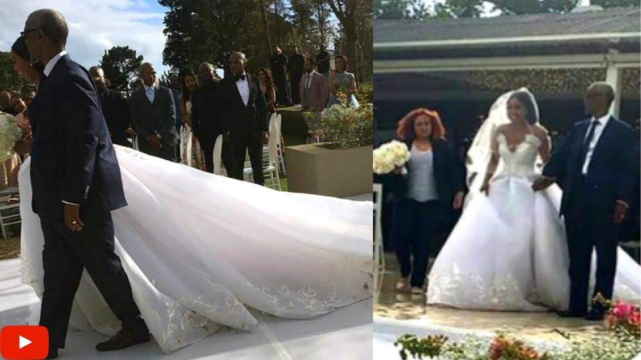MINNIE DLAMINIS WHITE WEDDING Part 2 BECOMING MRS JO