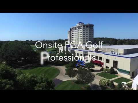 Hilton Chicago/Oak Brook Hills Resort & Conference Center Drone Footage