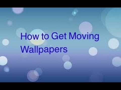 How To Get Free Moving Wallpapers iPhone, iPod, or iPad (No Jailbreak) - YouTube