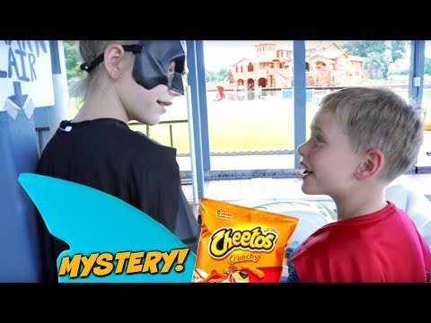 The Missing Cheetos Mystery! SuperHeroKids Comic In Real Life