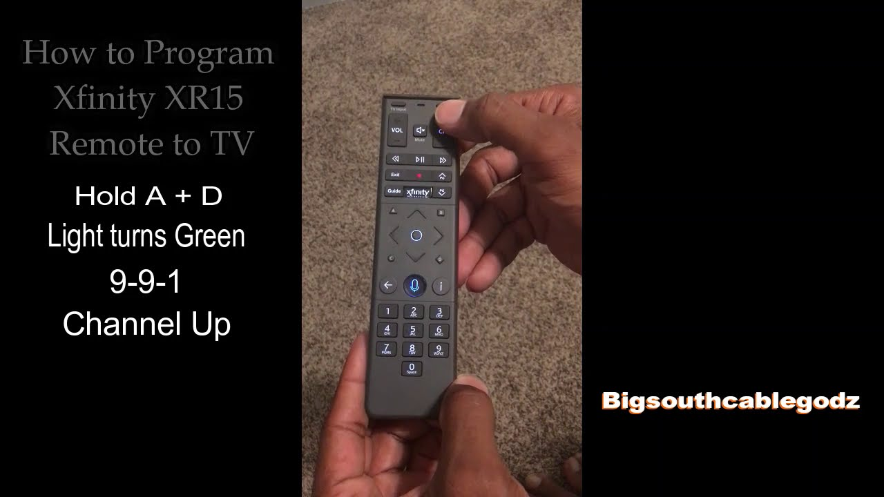 Program remote volume and power to Tv - YouTube