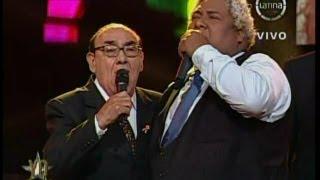 """Yo Soy 18-09-13 OSCAR AVILES sorprende a EL ZAMBO CAVERO y cantan """"Y Se Llama Peru"""" [18/09/13]"""