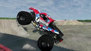 BeamNG Freestyle 12+ Trucks
