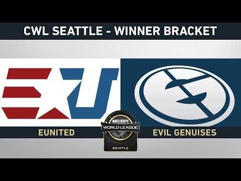 EUNITED VS EVIL GENIUSES - WINNER BRACKET - #CWLSEATTLELVP