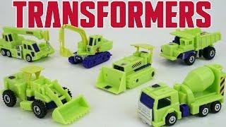 New Transformers Devastator Combiner Constructicons Old School Retro Toys