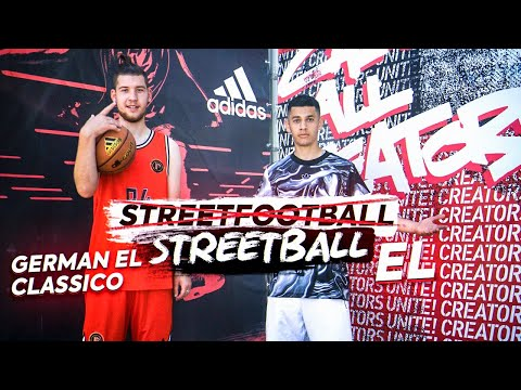 GERMAN EL CLASSICO Vs EL / STREETBALL 1х1 / БЕЗУМНЫЙ КАМБЭК?!