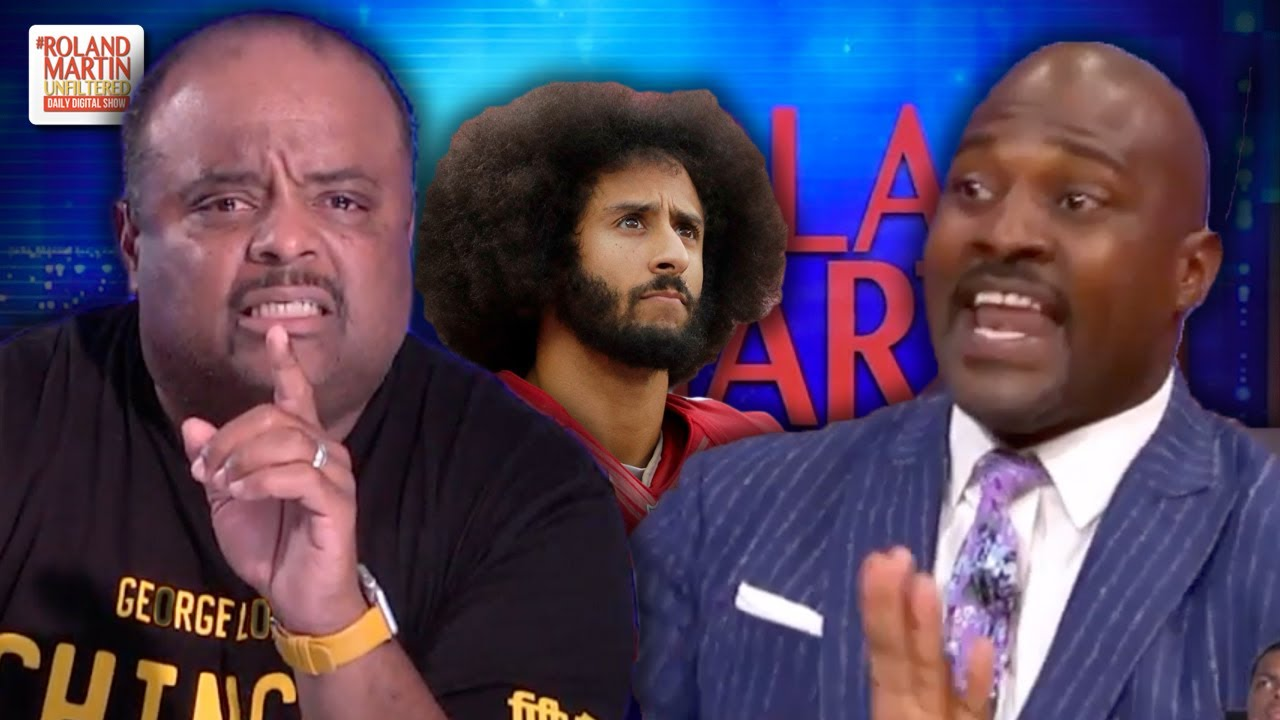 'Shameful Display On Television': Roland Martin Deconstructs Marcellus Wiley's Kaeper