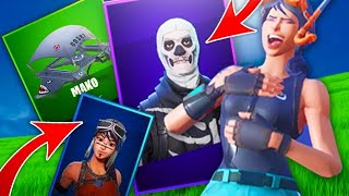 I TEACH ALL MY FORTNITE INVENTORY!! +50 SKINS +33 MOCHILAS +21 PICOS +27 ALA DELTAS +30 BAILES