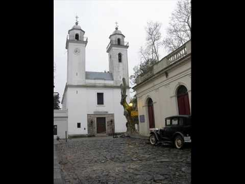 catholic cathedral.. Colonia, Uruguay (South America)