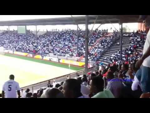 L'ambiance cet après- midi dans le Stade TP Mazembe à Kamalondo