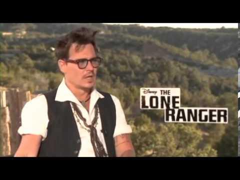 Johnny Depp on The Lone Ranger