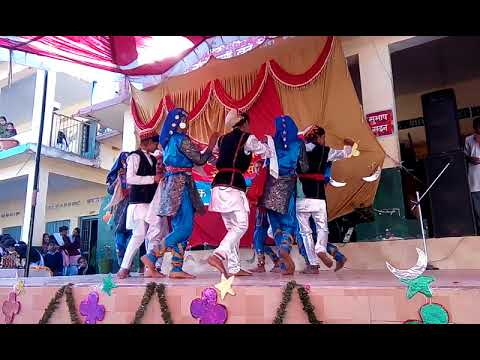 Renuka mai Himachali Dance - by Students in GSSS Bhojnagar