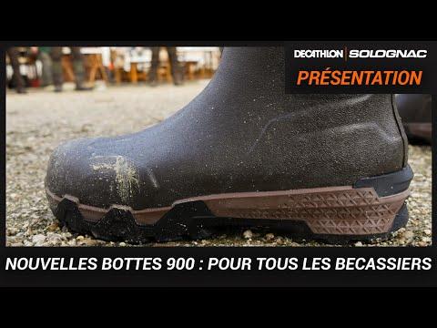 BOTTES DE CHASSE RENFORT 900 SOLOGNAC : NOUVEAUTÉ 2019