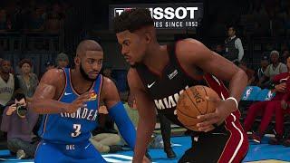 Miami Heat vs OKC Thunder NBA Full Game Highlights | NBA Today 1/17 (NBA 2K)