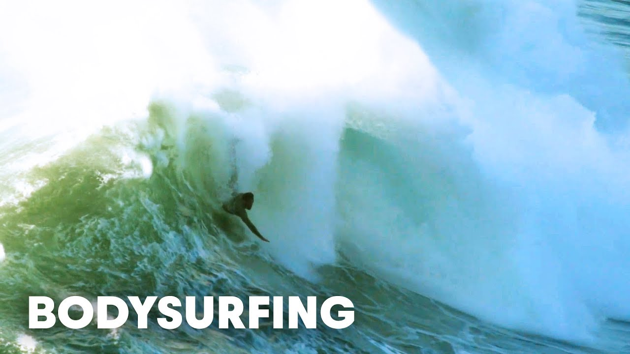 The Master of Bodysurfing Dares to Ride Nazaré