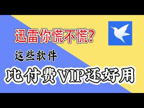 【小白进阶】老司机必备福利替代迅雷下载敏感资源 可下载电驴迅雷VIP磁力链接