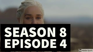 WTF ! DAENERYS CAPTURED?//SEASON8 EPISODE04//THEORY