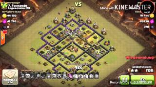 Let's play Clash of clans Kriegsreport 3