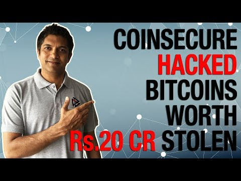 CoinSecure hacked. Bitcoins worth Rs.20 Cr. stolen
