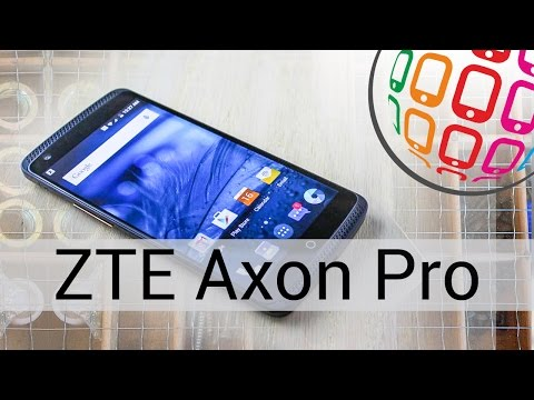 ZTE AXON PRO -  премиальный смартфон
