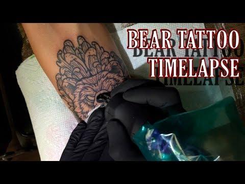 Bear Tattoo (Timelapse)