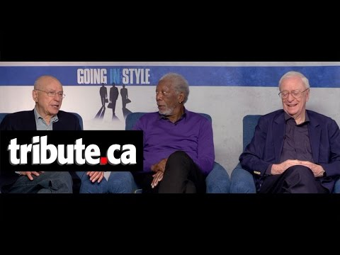 Michael Caine, Morgan Freeman and Alan Arkin - Going in Style Interview