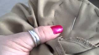 How to sew a patch