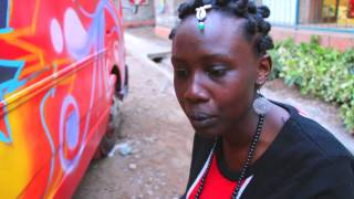 Graffiti Girls Spray Up Matatu for Dodi