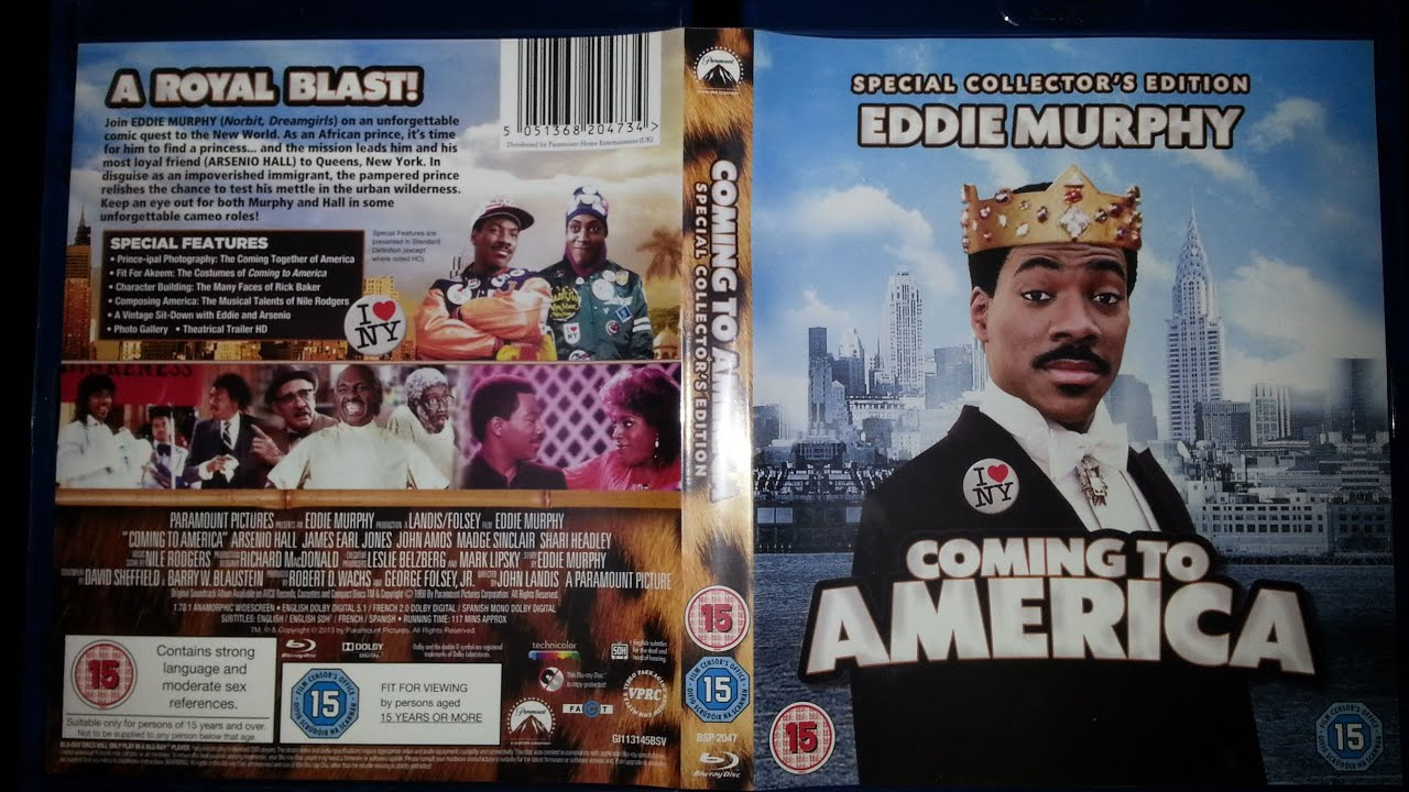 Coming To America Bluray Product Review  Youtube