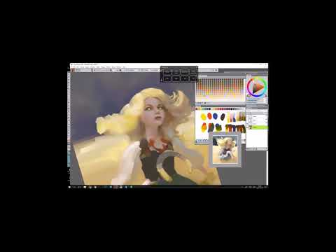 Magda Proski of Ubisoft Studio offers tips for creating characters in Painter 2018