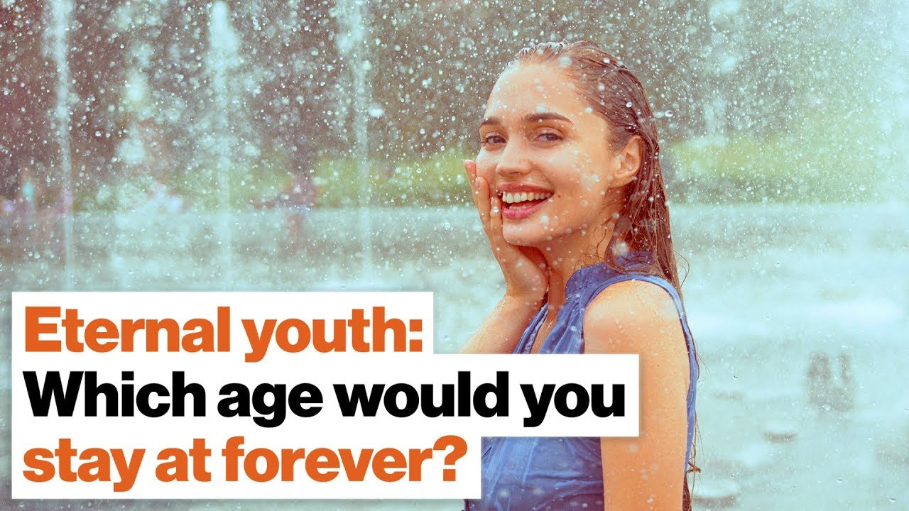 Eternal youth may be possible  Which age would you stay at forever? |  Michio Kaku