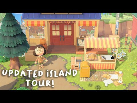 just posted a quick island update! i changed up a bunch of qrs and have been giving my island a bit of a make over! please...