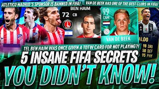 5 INSANE FIFA SECRETS YOU DIDN'T KNOW!