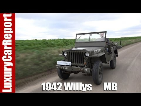 1942 Willys Mb Military Jeep Detailed Walkaround Review And Test