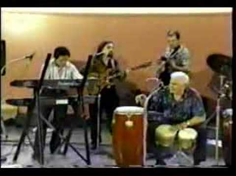 """Jack Costanzo """"Mr. Bongo"""" and his band Latin Combustion"""