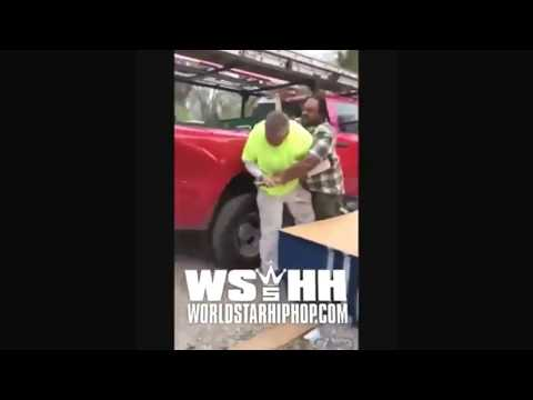 Worker beats his boss up for not paying him (must watch)