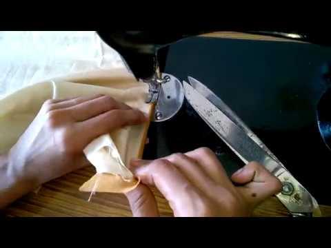 Churidar top neck,hands,slits piping tutorial easy method