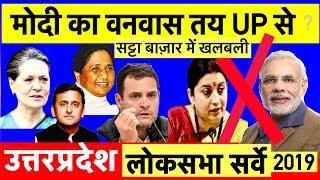 2019 UP Opinion Poll LokSabha Election Survey:लोकसभा चुनाव ओपिनियन पोल सर्वे#UttarPradesh #MODI #BJP thumbnail