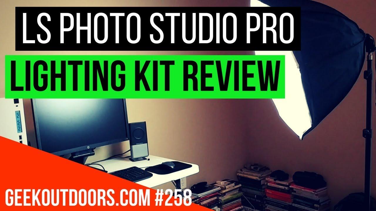 Video Lighting Ls Photo Studio Pro Review Geekoutdoorscom Ep258