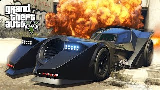 "GTA 5 HALLOWEEN DLC - BATMOBILE ""VIGILANTE"" $4,250,000 SPENDING SPREE!! (GTA 5 DLC Update)"