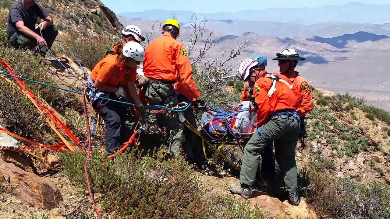 Search And Rescue (SAR) Team Rescues Hang Glider Pilot