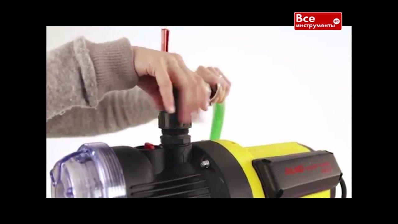 инструкция по регулировке давления насоса джамбо
