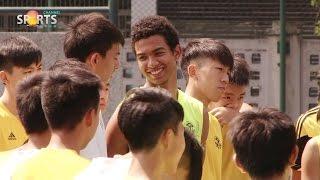 粵華學界足球隊備戰情況