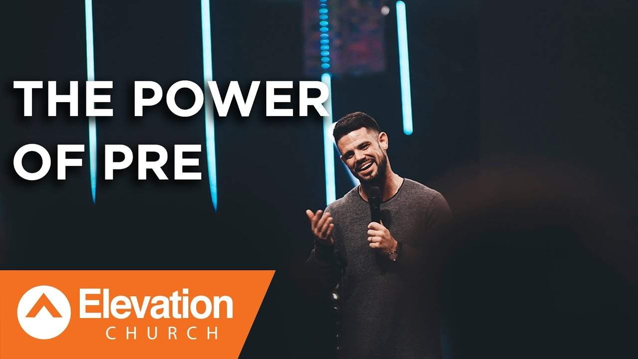 The Power of Pre | Work Your Window | Pastor Steven Furtick