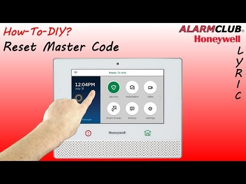 Honeywell Lyric Security System - How to Reset Master Code?